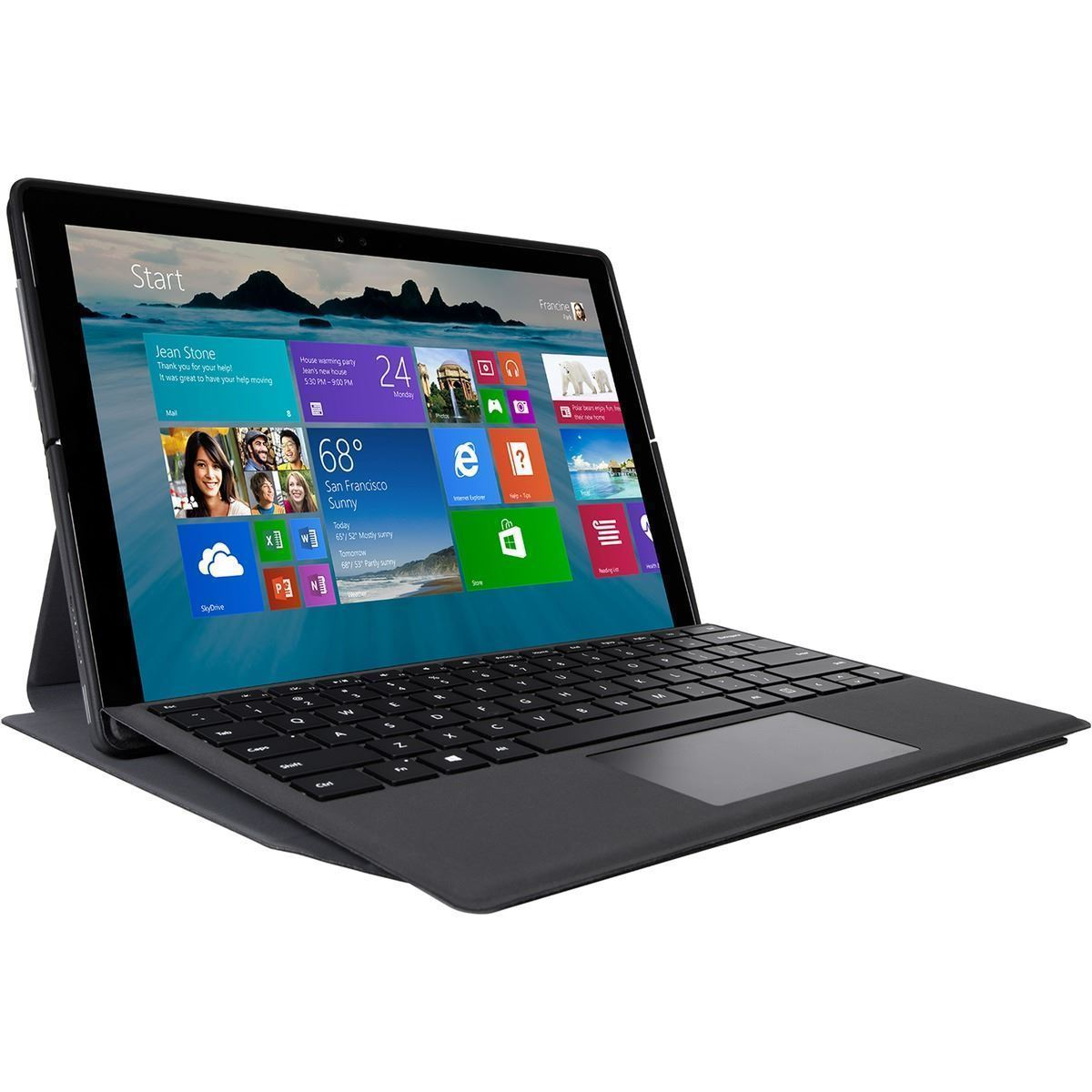 Folio Wrap + Stand for Microsoft Surface Pro 4 (THZ618GL) - Use8