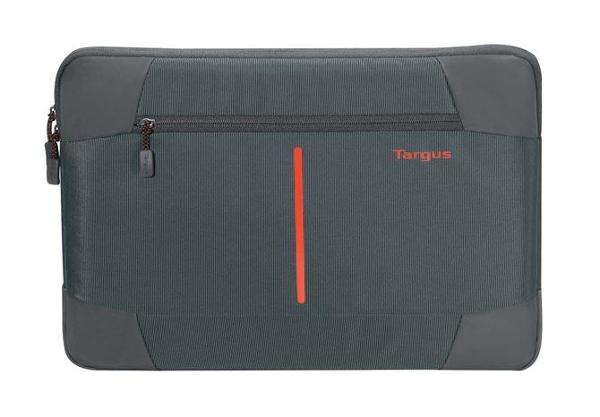 "Picture of 11-12"" Bex II Laptop Sleeve - Ebony/Red"