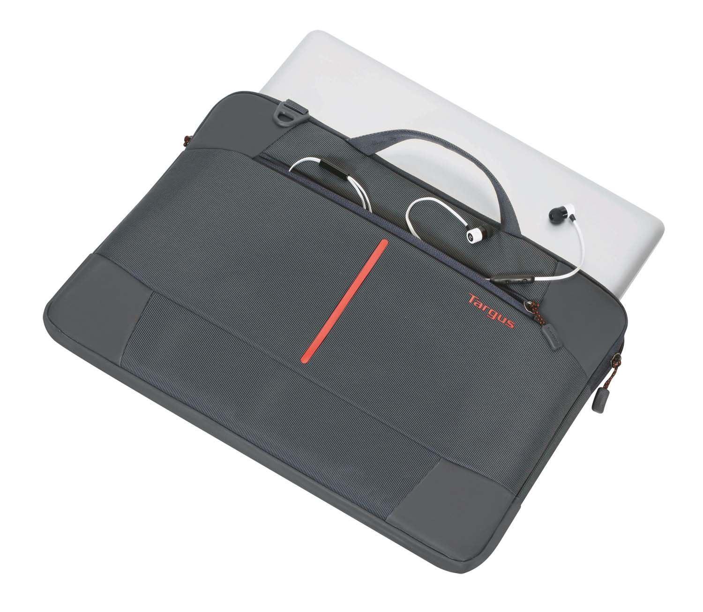 TSS954AU - 15.6 Bex II Slipcase - Ebony Top with MacBook