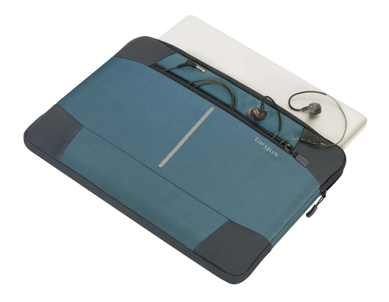 TSS95302AU - 13-14 Bex II Sleeve-Stone BlueBlk Top With Macbook