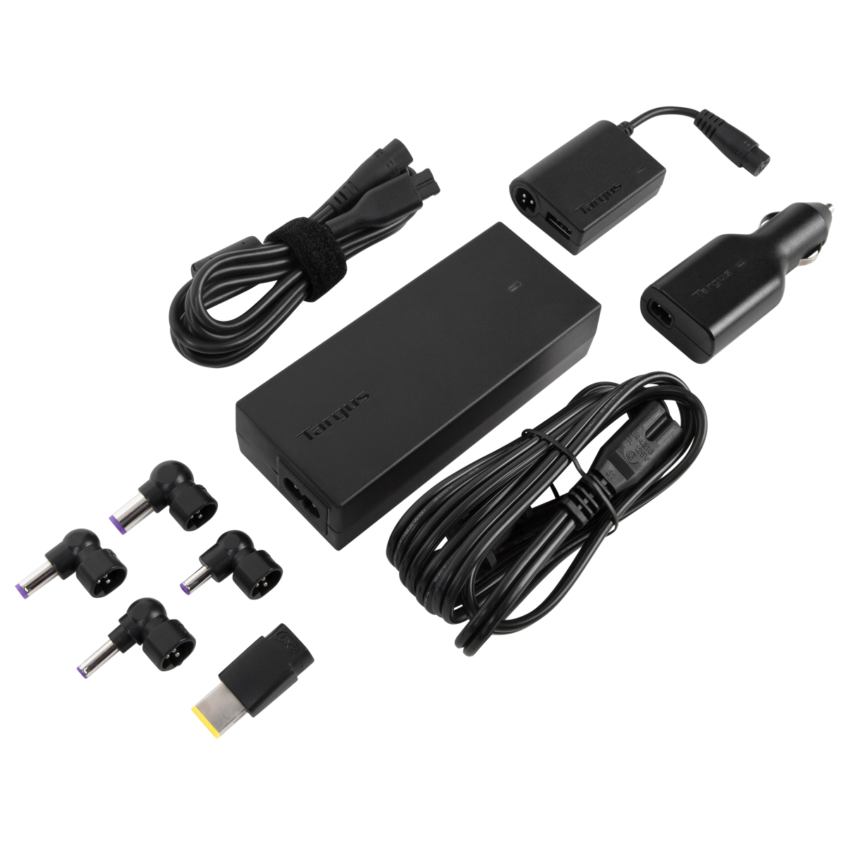 Laptop car charger dc apd33us black chargers targus laptop travel charger with usb fast charging port sciox Images