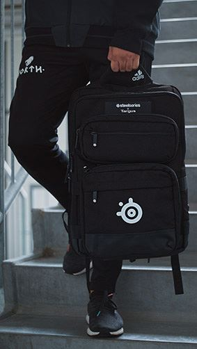targus steelseries sniper 17 3 gaming rucksack schwarz. Black Bedroom Furniture Sets. Home Design Ideas