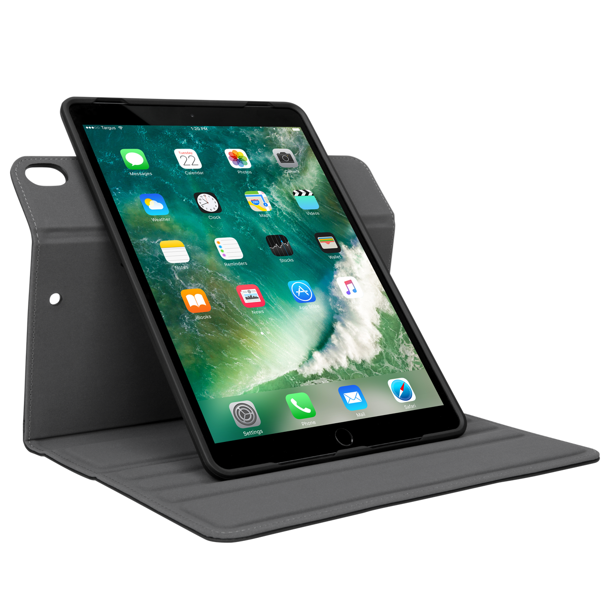 Classic Book Tablet Cover ~ Versavu classic case for inch ipad pro black