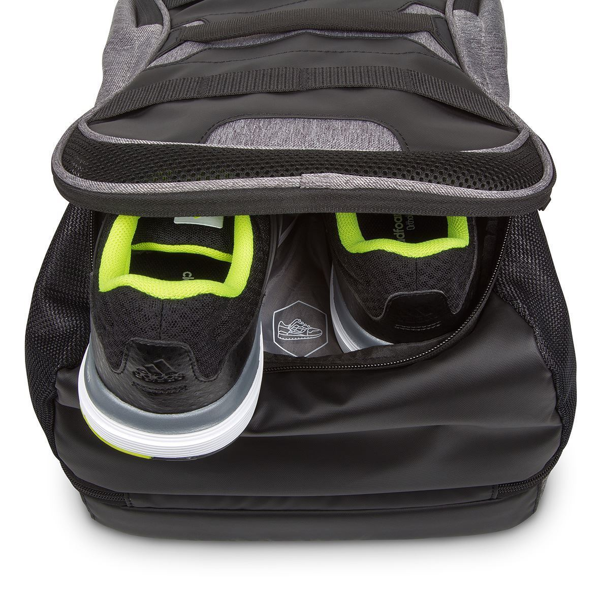 "Picture of 15.6"" Fitness Backpack Black/Grey"