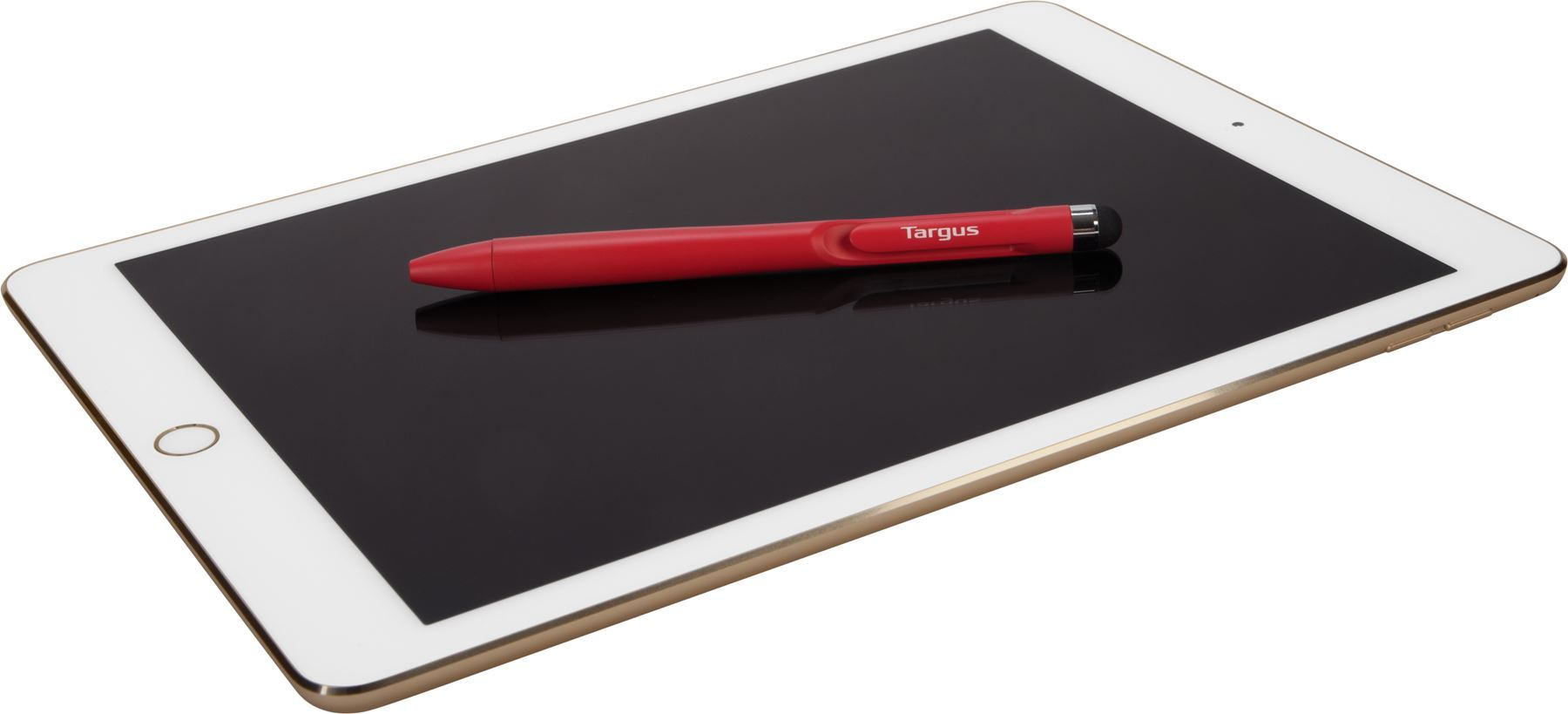 Picture of Targus 2 in 1 Pen Stylus for all Touchscreen Devices - Red