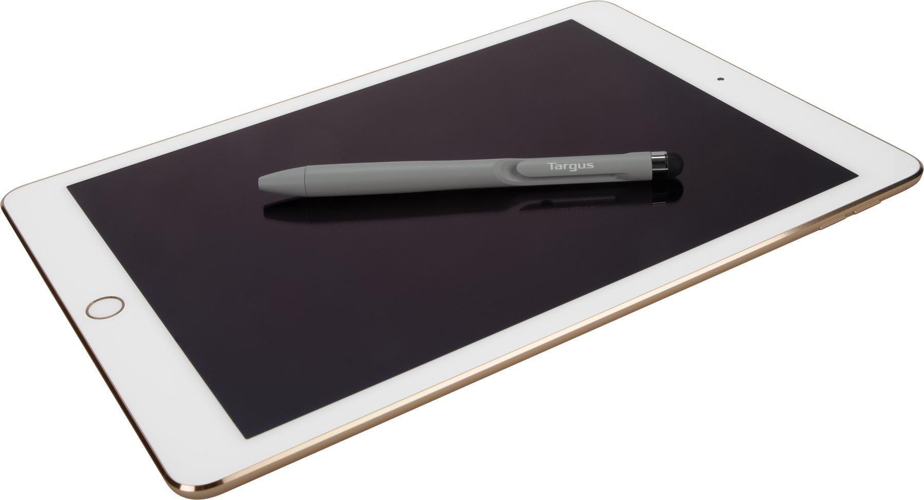 Picture of Targus 2 in 1 Pen Stylus for all Touchscreen Devices - Grey
