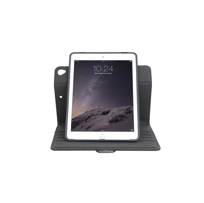 Picture of VersaVu Signature 360° Rotating Case (Black) for iPad® (2017/2018), 9.7-inch iPad Pro®, iPad Air® 2, and iPad Air (Black)