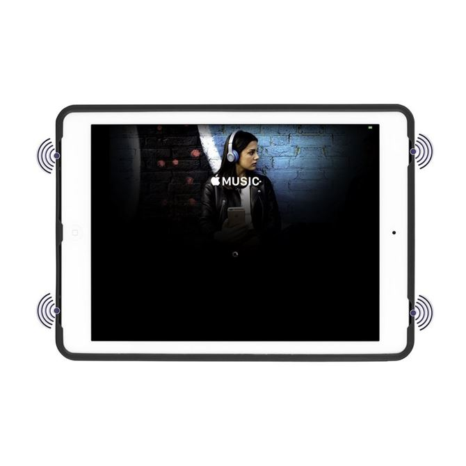 "Picture of 3D Protection™ Multi-Gen  for 9.7"" iPad Pro, iPad Air 1 &2 (Silver)"