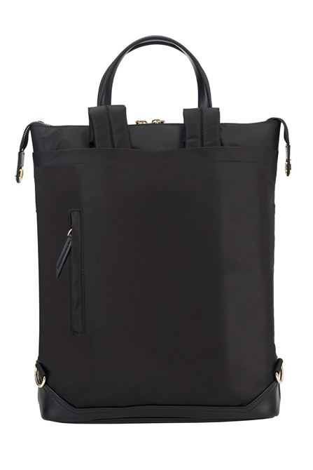 "Picture of 15"" Newport Convertible 2-in-1 Backpack (Black)"