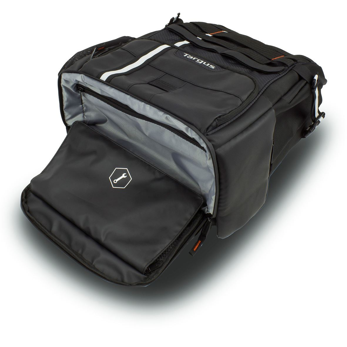 """Work + Play Cycling 15.6"""" Laptop Backpack - Black"""