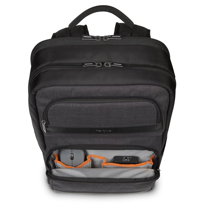 """Picture of 12.5-15.6"""" CitySmart Multi-Fit Advanced Backpack (Black)"""