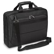 "Picture of CitySmart 14,15,15.6"" High Capacity Topload Laptop Case - Black/Grey"