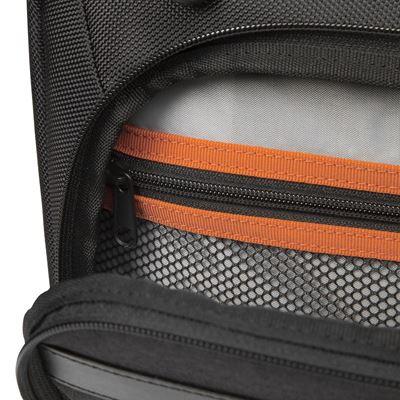 """Imagen de CitySmart 14,15,15.6"""" High Capacity Topload Laptop Case – Negro/Gris"""