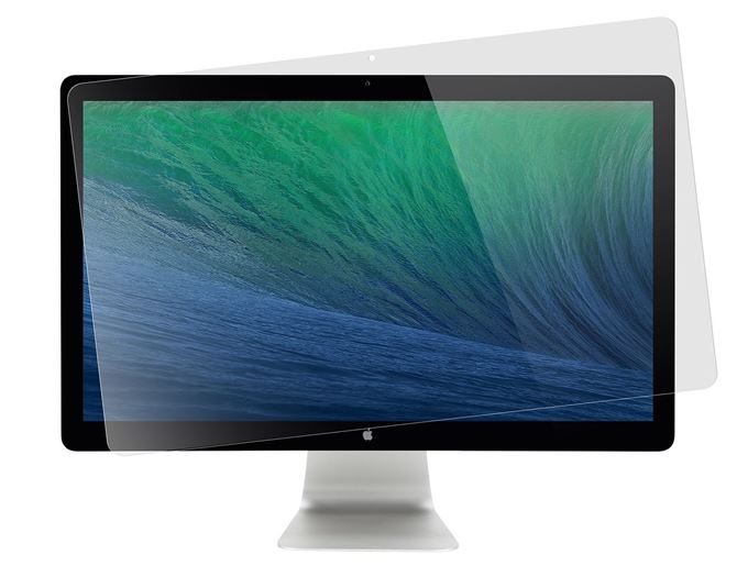 """Picture of 24"""" Apple Cinema Display Privacy Screen (Clear)"""
