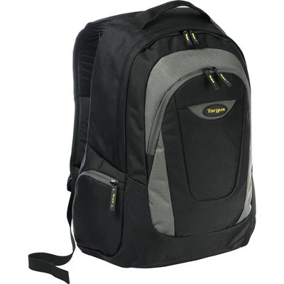 "Picture of 16"" Trek Laptop Backpack (Black/Grey)"