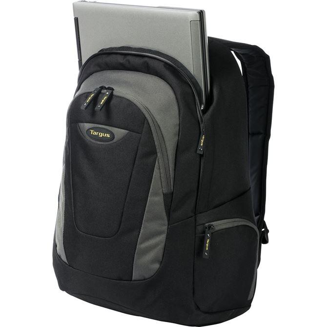 "Picture of 16"" Trek Laptop Backpack (Black/Grey)"