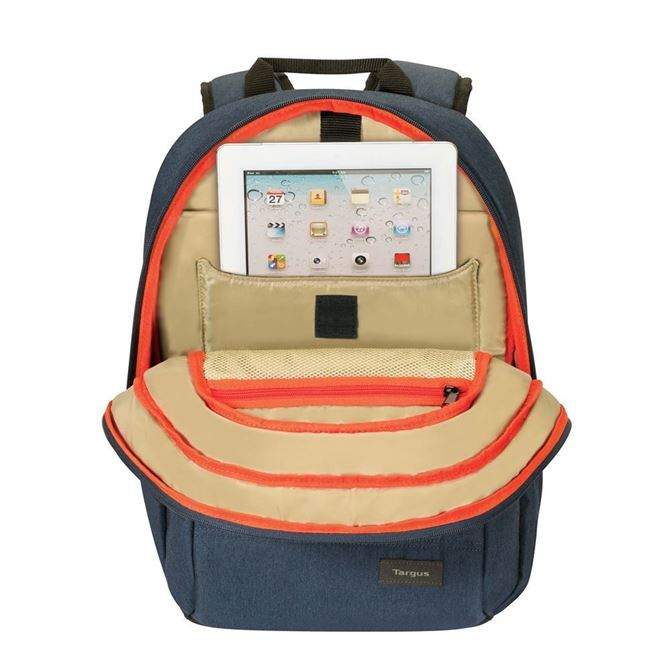"""Picture of 15"""" Groove X Compact Backpack for MacBook® (Indigo)"""