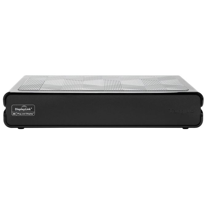 Picture of Universal USB 3.0 DV4K Docking Station with Power (Black)