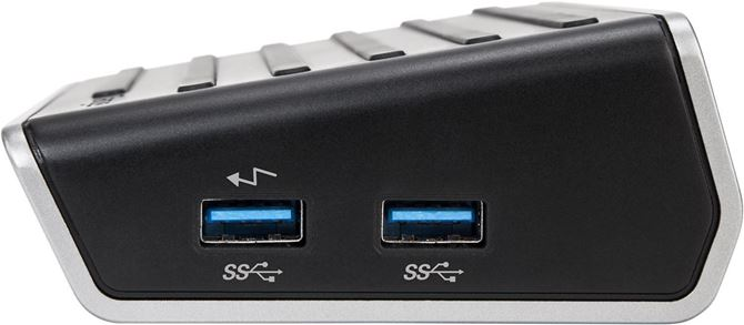 Picture of 4K Universal Docking Station, USB 3.0, Single 4K or Dual HD Video (Black)