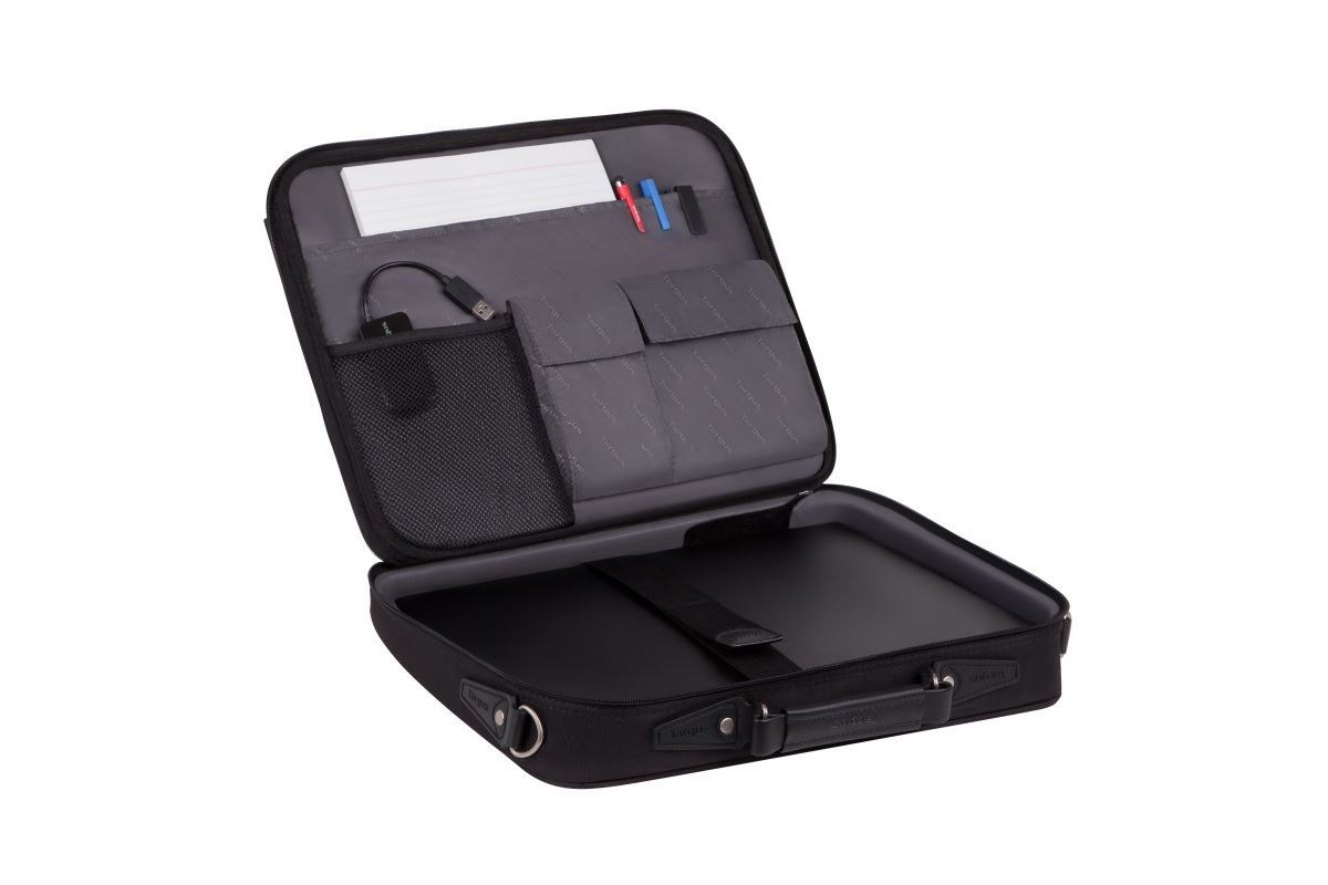 """Picture of Notepac 15-16"""" Clamshell Case - Black"""