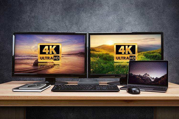 Supports Dual DisplayPort™ and HDMI Monitors