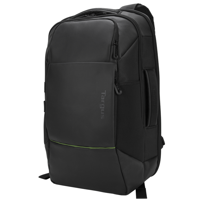"Picture of 15.6"" Balance™ EcoSmart® Checkpoint-Friendly Backpack (Black)"