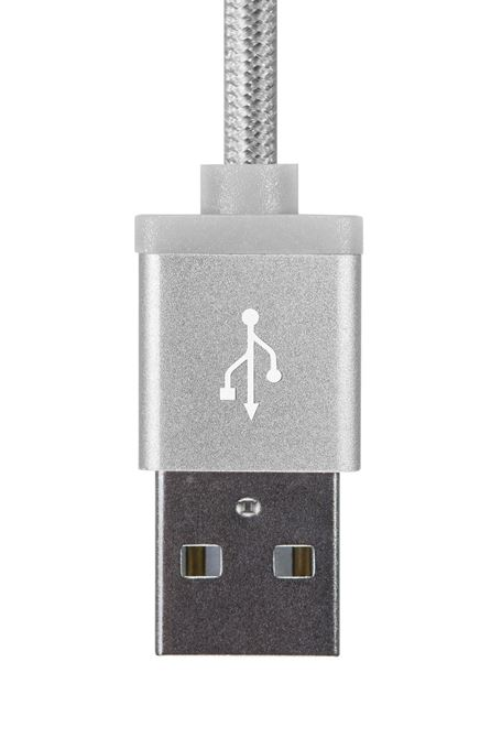 Picture of Aluminium Series 2-in-1 Lightning Cable (Silver)