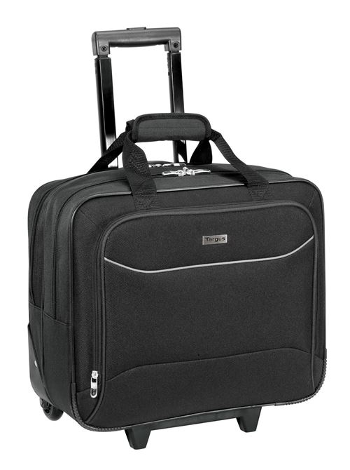 "Picture of 15.6"" Rolling Laptop/Overnighter Case  (Black)"