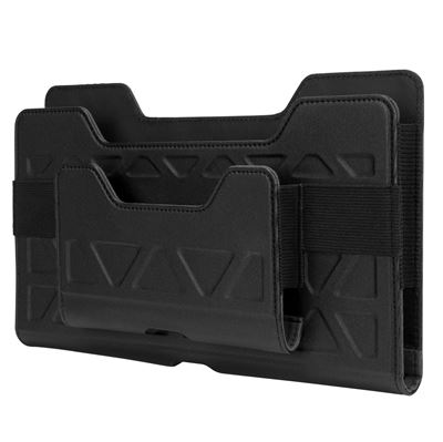 "Imagen de Soporte de transporte universal todoterreno de Targus para tablets de 7-8"""" sin cinturón (horizontal) - Negro"