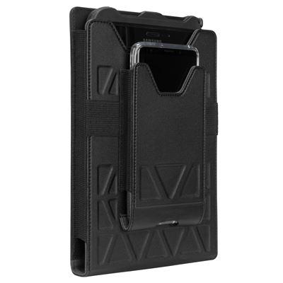 """Imagen de Soporte de transporte universal todoterreno de Targus para tablets de 7-8"""" sin cinturón (vertical) - negro"""