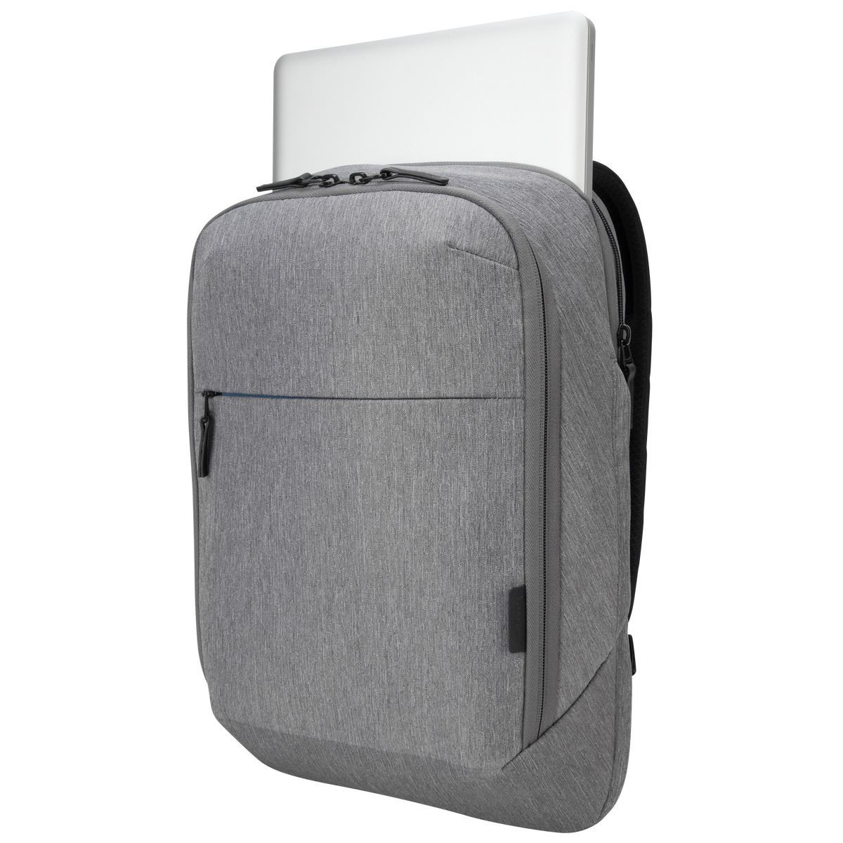 "50b70f7e133 CityLite Convertible Backpack   Briefcase fits up to 15.6"" Laptop – Grey"