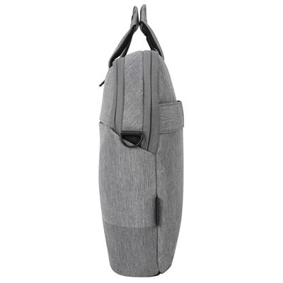 """Picture of CityLite laptop bag best for work, commute or university, fits up to 15.6"""" Laptop – Grey"""