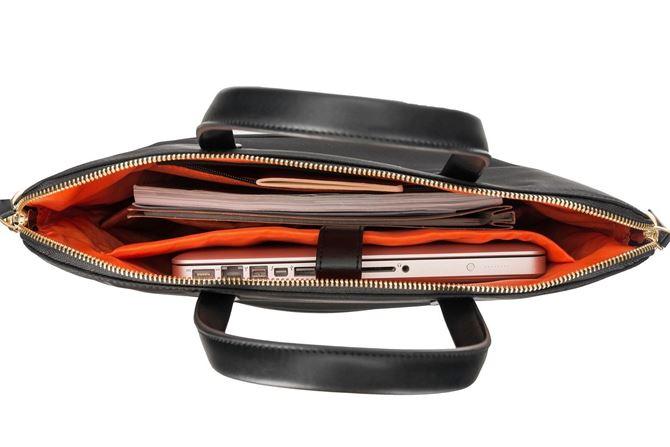 ニューポート コンバーチブル 2イン1 メッセンジャー  (黒)の画像