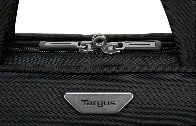 Targus 15.6インチ ノートパソコン用 ViP スリム・ブリーフケースSafePort® ハンモック式落下保護機能  (ブラック)の画像