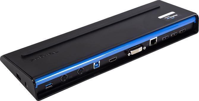 USB 3.0 SuperSpeed™ Dual Video Docking Station (ブラック)の画像