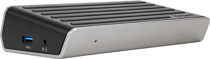 4Kユニバーサルドッキングステーション、USB 3.0、シングル4KまたはデュアルHDビデオ(ブラック)の画像