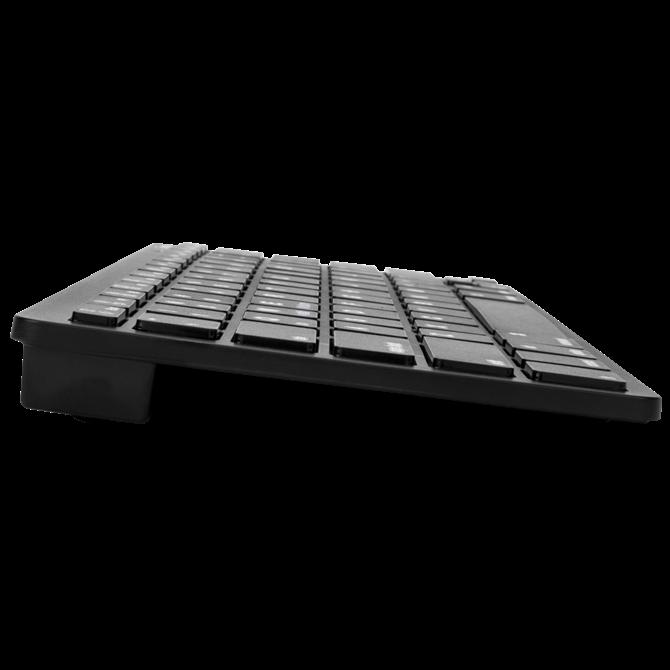 KB55マルチプラットフォームBluetooth®キーボード(ブラック)の画像