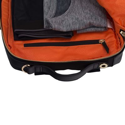 """Bild von Newport 15"""" flexibler Notebook-Rucksack – Schwarz"""