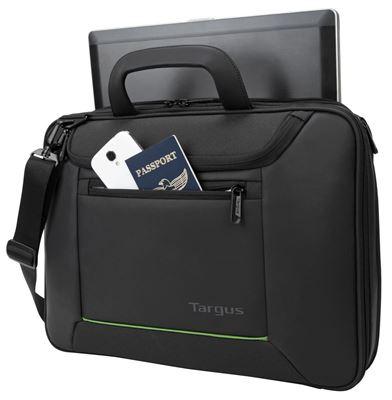 """Image sur Mallette Targus EcoSmart  pour ordinateur portable 15,6""""– Noir"""