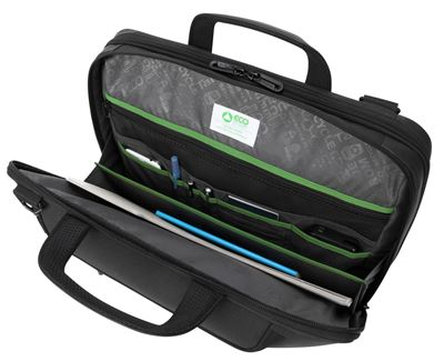 "Picture of Balance EcoSmart 15.6"" Briefcase - Black"