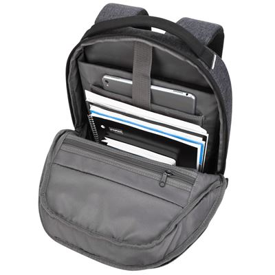"""Picture of Groove X2 Compact Backpack designed for MacBook 15"""" & Laptops up to 15"""" - Charcoal"""