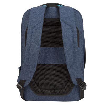 "Imagen de La mochila Groove X2 Max de Targus que está diseñada para un MacBook de 15"" - Azul marino"