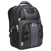 "Picture of DrifterTrek 15.6-17.3"" Laptop Backpack with USB Power Pass-Thru - Black"