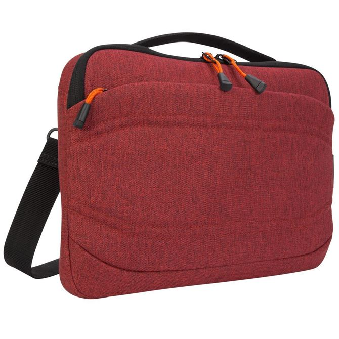 "Picture of Groove X2 Slim Case designed for MacBook 13"" & Laptops up to 13"" (Dark Coral)"