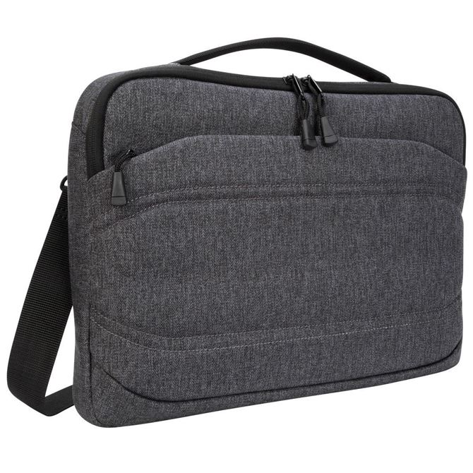 """Picture of Groove X2 Slim Case designed for MacBook 13"""" & Laptops up to 13"""" (Charcoal)"""