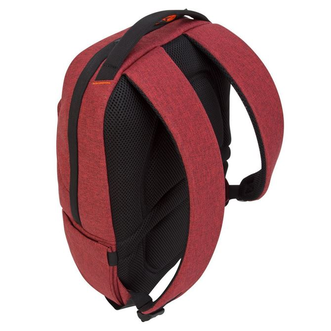 """Picture of Groove X2 Compact Backpack designed for MacBook 15"""" & Laptops up to 15"""" (Dark Coral)"""