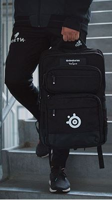 "Picture of Targus SteelSeries 17.3"" Gaming Backpack - Black"