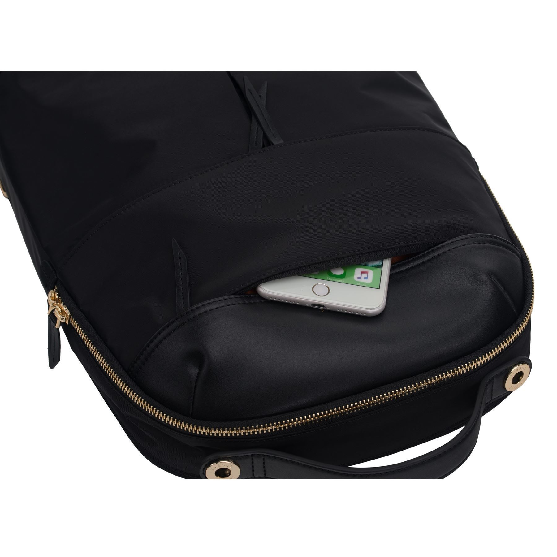 """Picture of 15"""" Newport Backpack (Black)"""