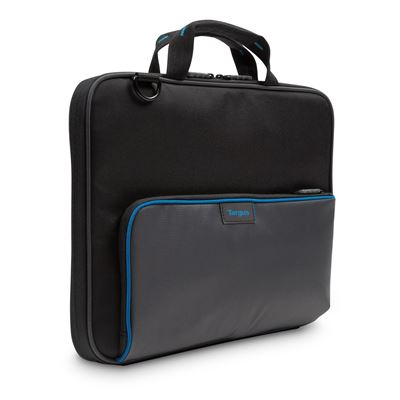 "Picture of Education Dome Protection 11.6"" Work-In Clamshell Laptop Bag (Black/Grey)"