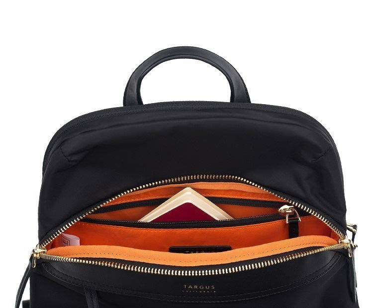 """Picture of 12"""" Newport Mini Backpack (Black)"""